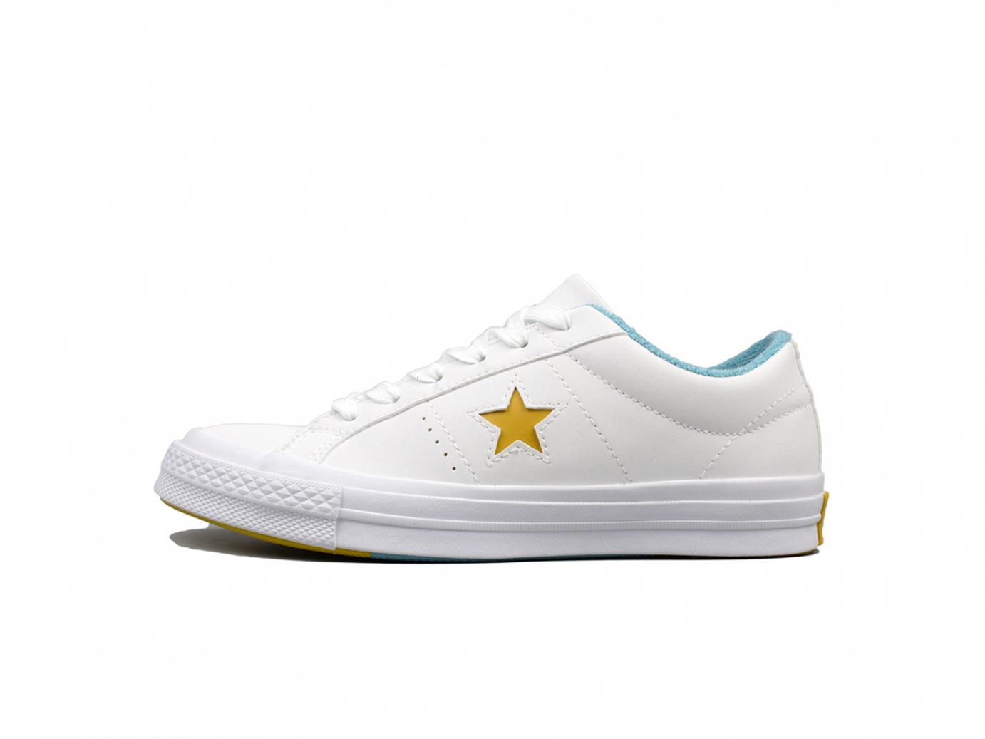 one star ox - white - mineral yellow